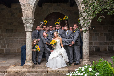 Bridal Party Fun at Glencairn Museum
