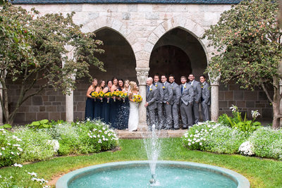 Bridal Party Photography in Bryn Athyn
