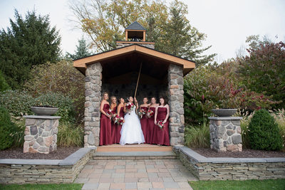 Bridesmaids at Stroudsmoor