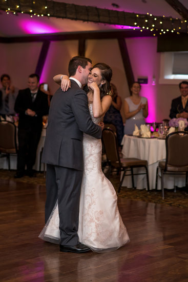 First Dance at Normandy Farms Wedding