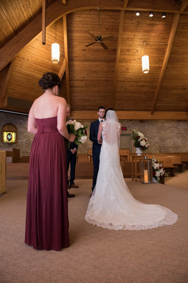Wedding Ceremony at Northampton Presbyterian Church