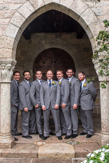 The Groomsmen at Glencairn Museum