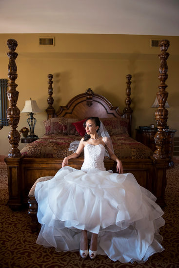 Bridal Portrait at Leola Village