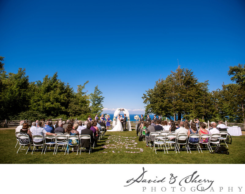 Blue Mountain Wedding Ceremony