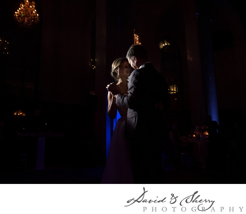 First dance at One King West in Toronto