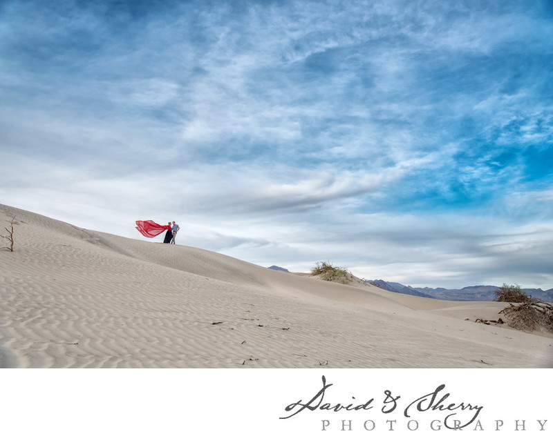 Desert Landscape Wedding Photography