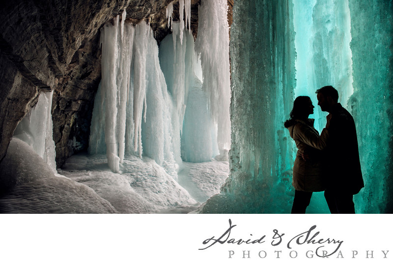 Owen Sound Winter Engagement Photos