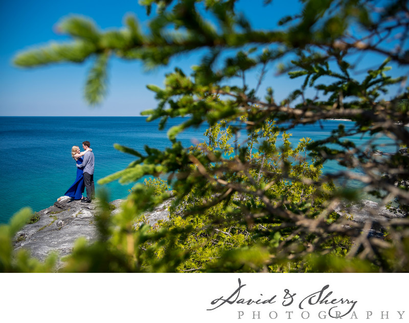 Bruce Peninsula Engagement Photography