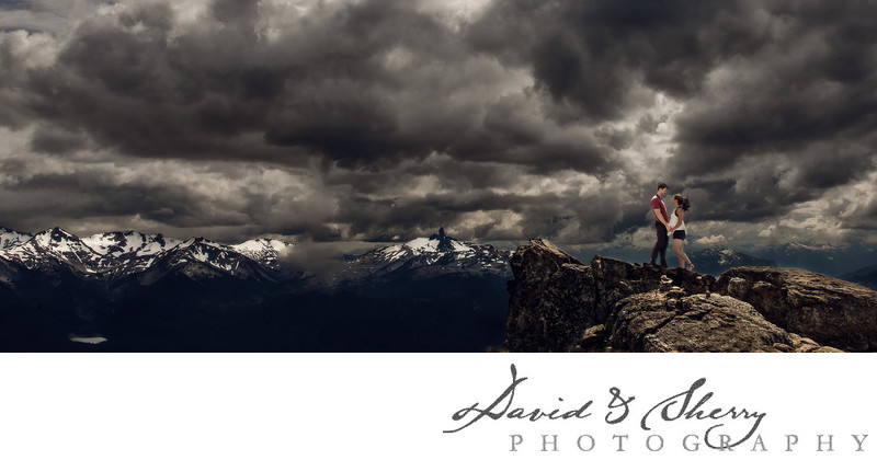 Vancouver and Whistler Pre-Wedding Engagement Photography
