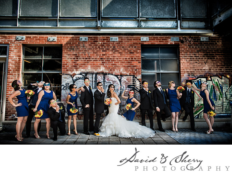 Unique Wedding Party Photos Toronto