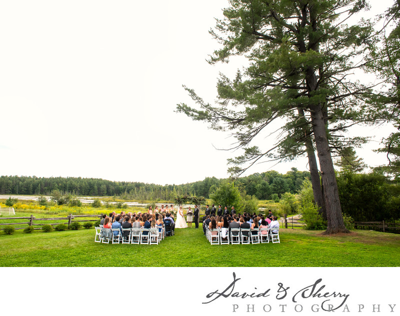 Brooklands Farm Outdoor Ceremony
