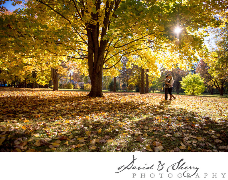 Owen Sound Fall Engagement Photos