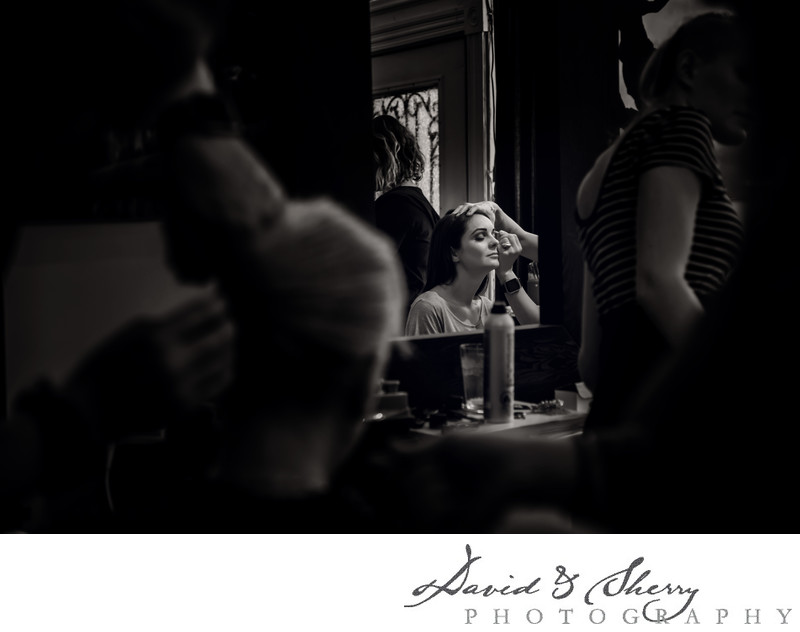 Bridal Makeup Getting Ready Locations