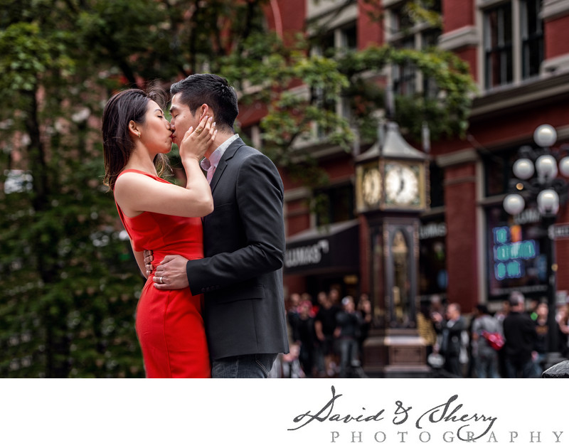 Gastown Engagement Photos
