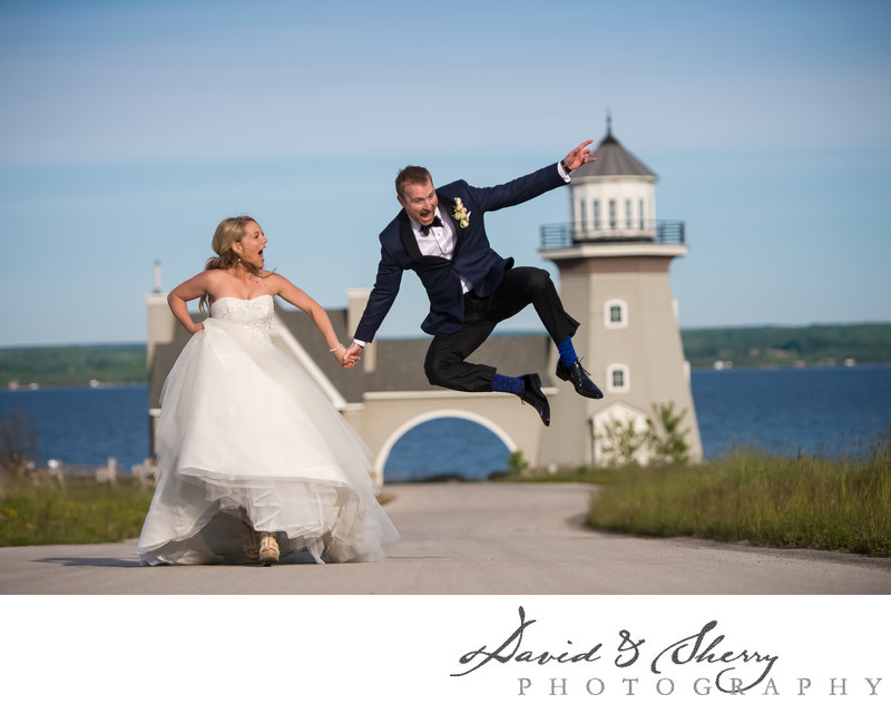 Unique Wedding Photo Ideas At Cobble Beach