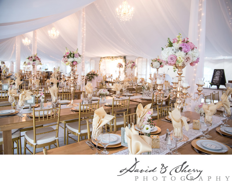 How to Create a Glamourous Tent Wedding