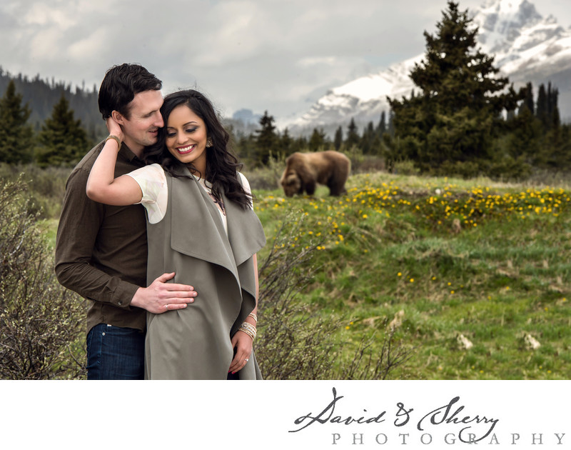 Engagement Photos in Banff National Park