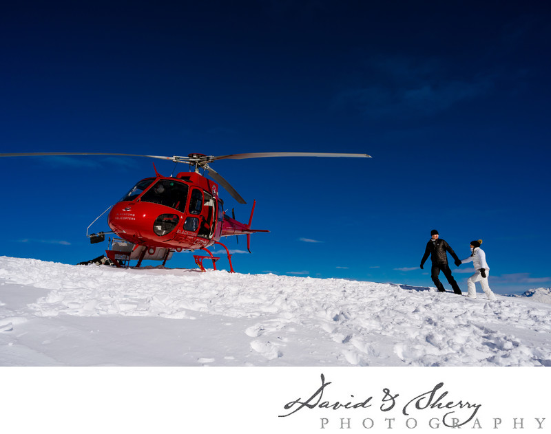 Whistler Helicopter Wedding Elopement Photography