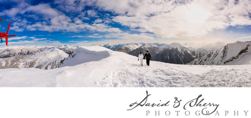 Mt Currie Helicopter Elopement Wedding