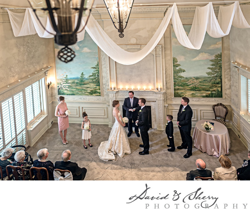 Indoor Ceremony Graydon Hall Manor