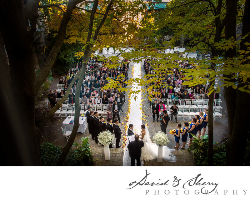 Wedding Ceremony at Liberty Grand in Toronto
