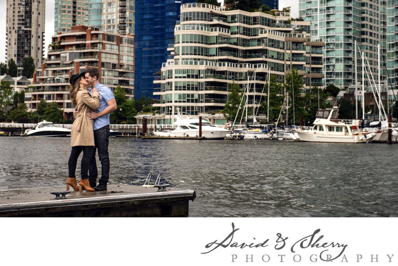 Granville Island Pre-Wedding Engagement Photography