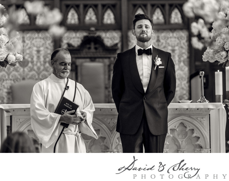 Catholic wedding ceremony Vancouver