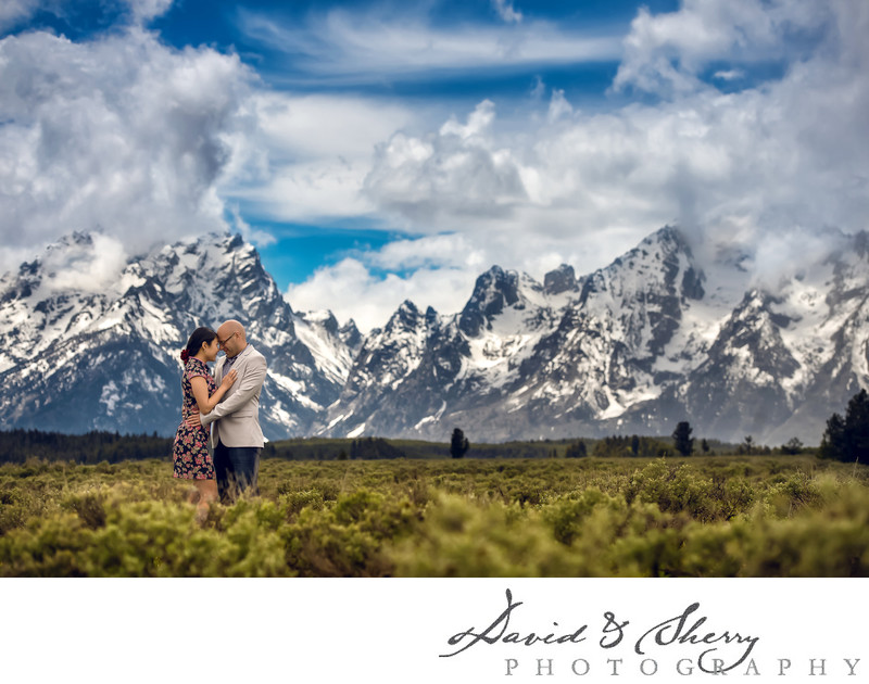 Grand Teton Pre-Wedding Engagement Photos