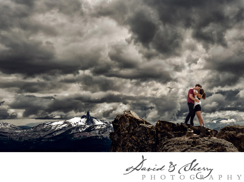 B.C. Mountain Wedding Photographers