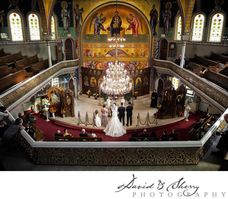 St. George's Greek Orthodox Church Wedding