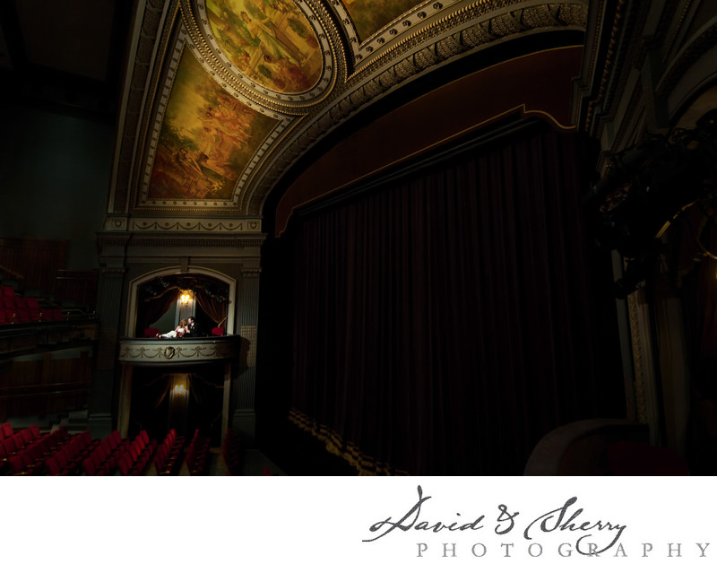 Grand Theatre London Wedding