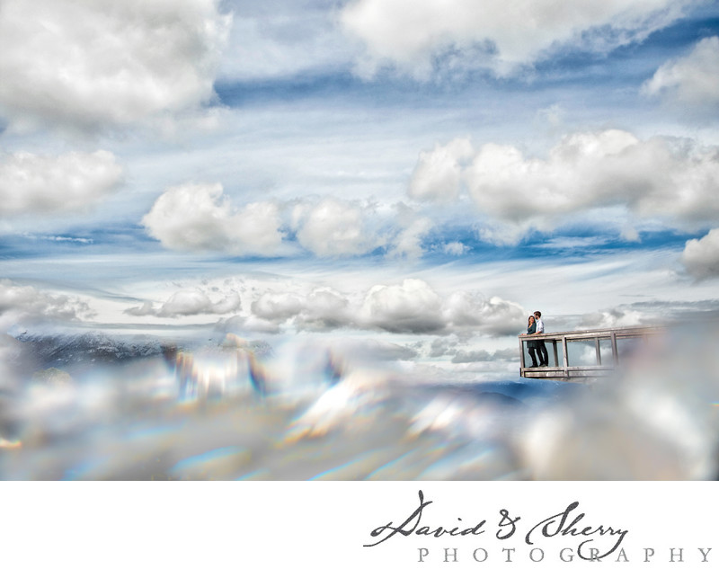 Sea to Sky Gondola Wedding Photos in the Clouds
