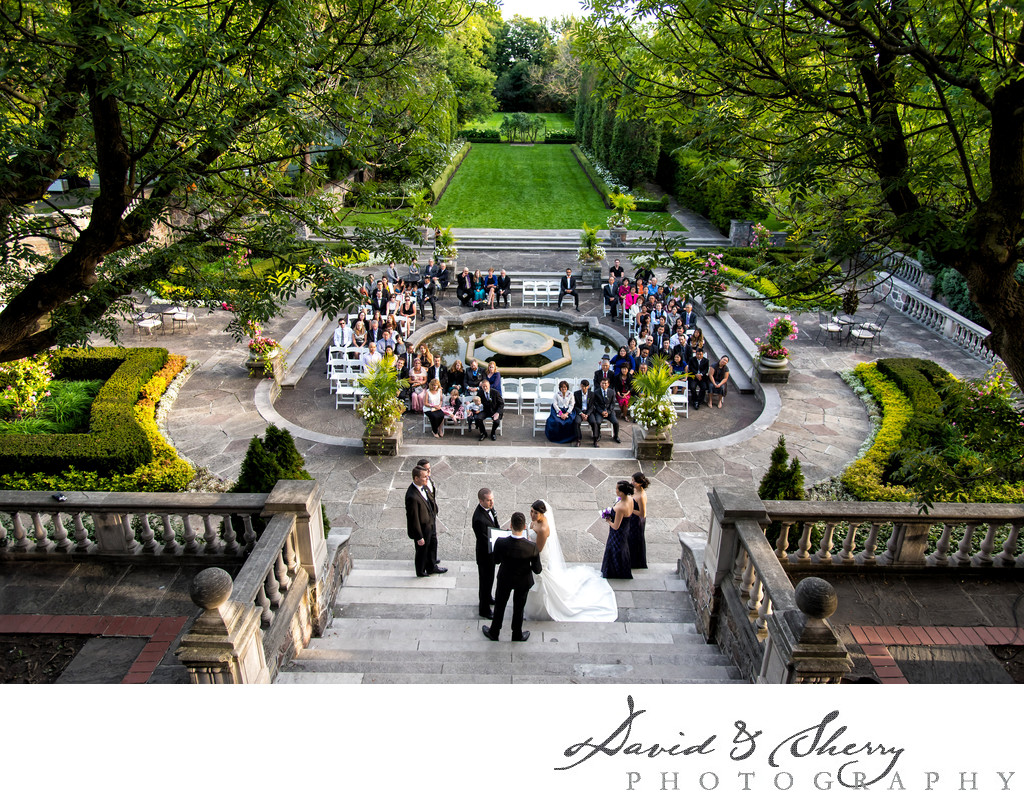 Graydon Hall Manor Outdoor Ceremony