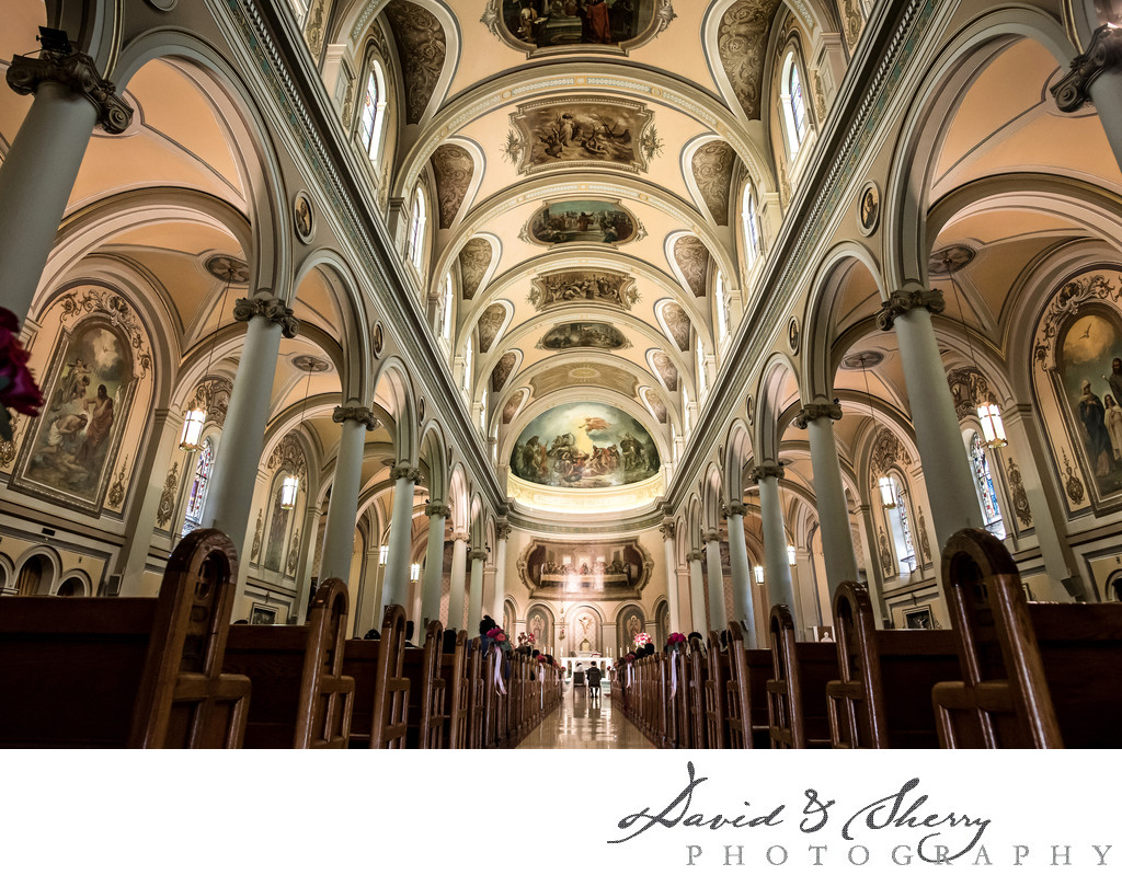 St. Paul's Basilica Toronto Wedding