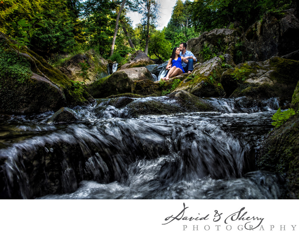 Inglis Falls Engagement Photography
