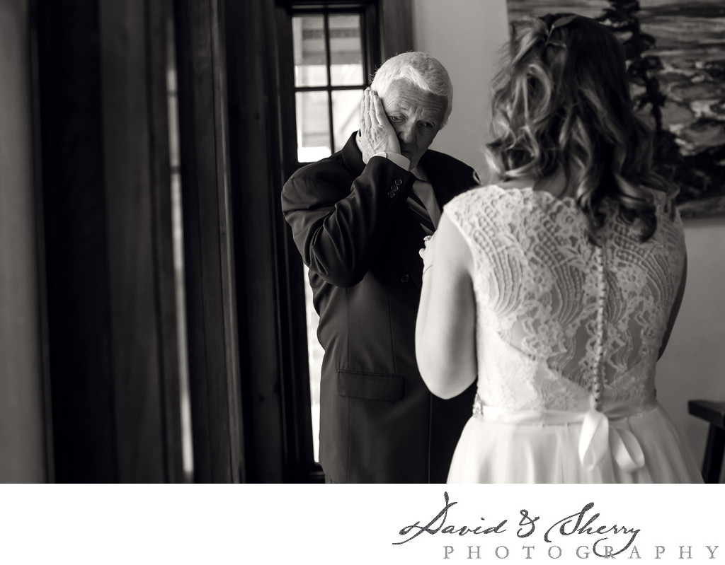 Emotional Wedding Moments With Father and Daughter
