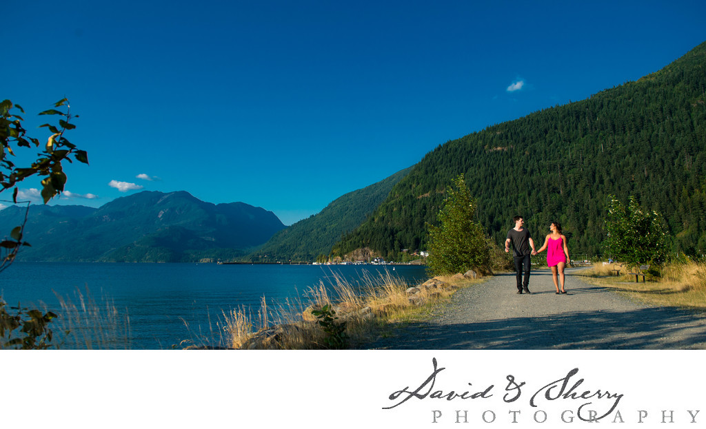 Harrison Hot Springs Engagement