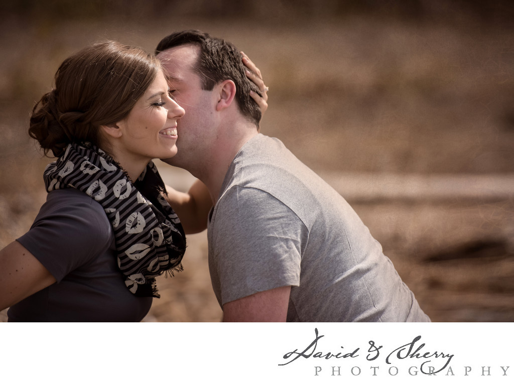 Intimate Engagement Photos
