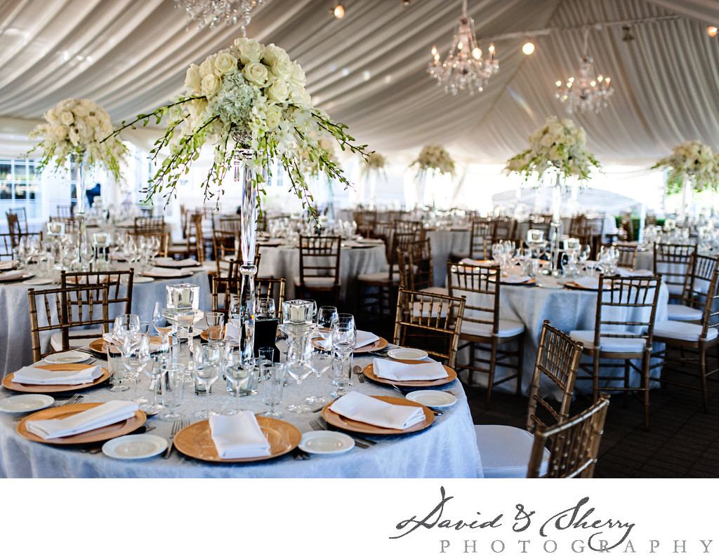 Grey-Bruce Farm Tent Wedding Elegant