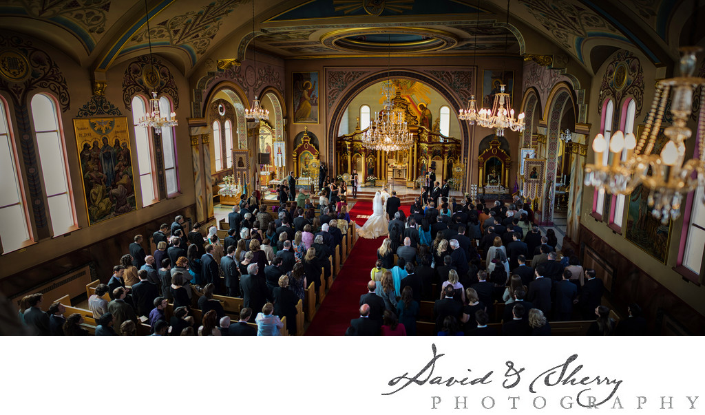 St. Volodymyr Ukrainian Orthodox Cathedral Wedding