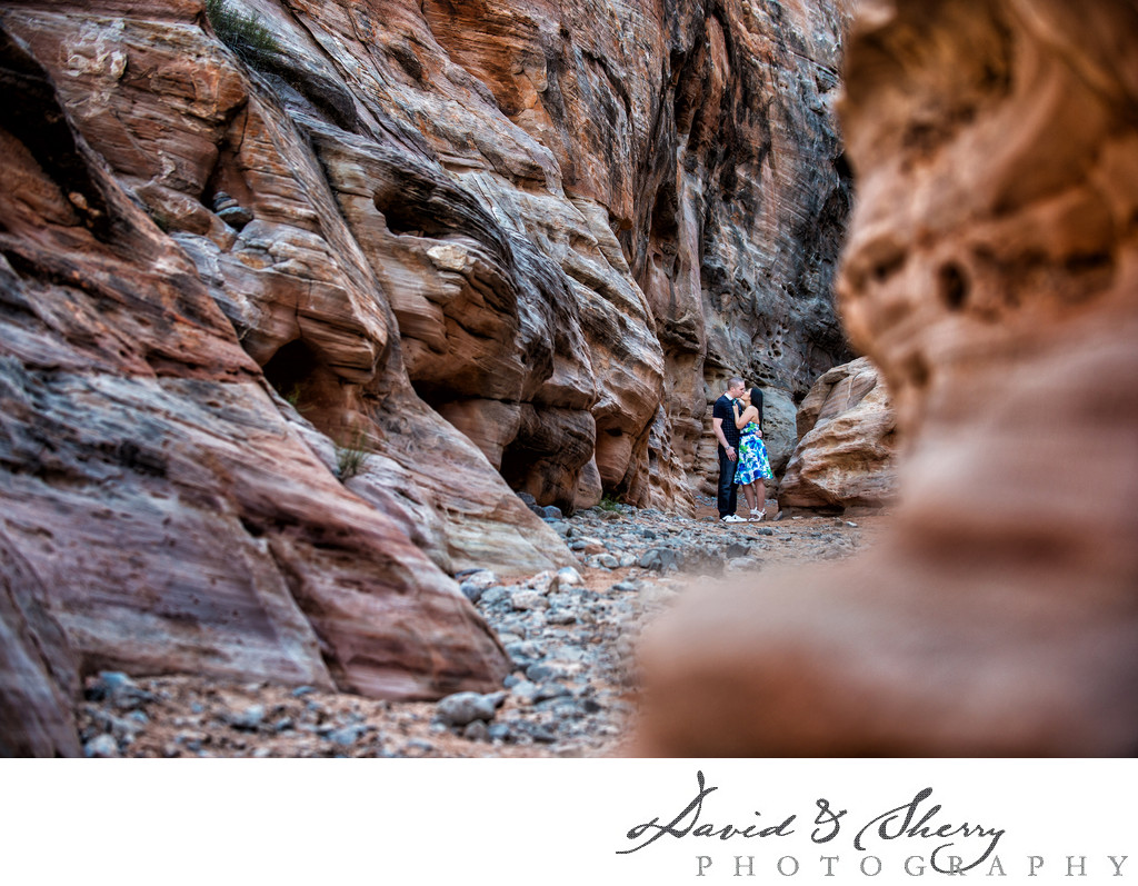 Valley of Fire State Park Engagement Photos