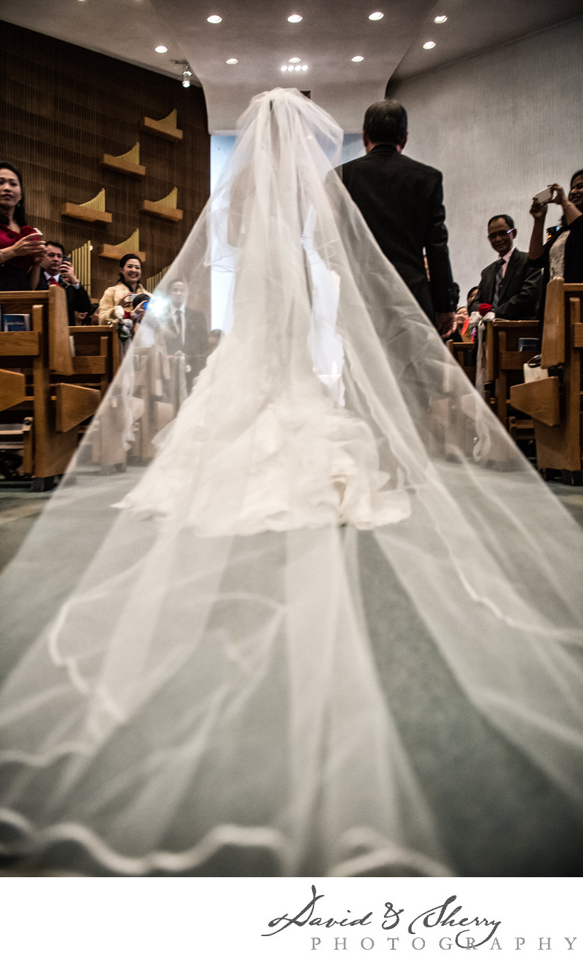 Cathedral Veil On Your Wedding Day