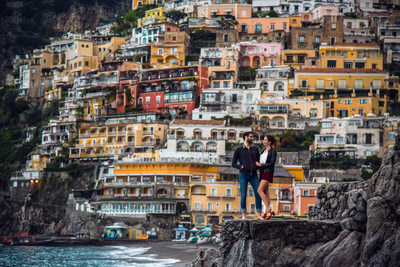 Positano Engagement Photography