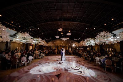 Palais Royale Heart Lit Dance Floor