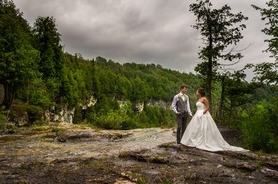 Wedding Photography at Eugenia Falls