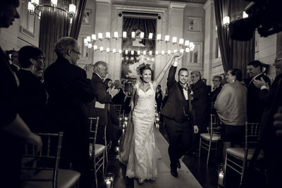 Windsor Arms Wedding Photos Bride and Groom Exit