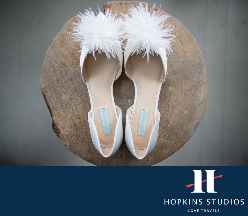 wedding shoes palmetto bluff