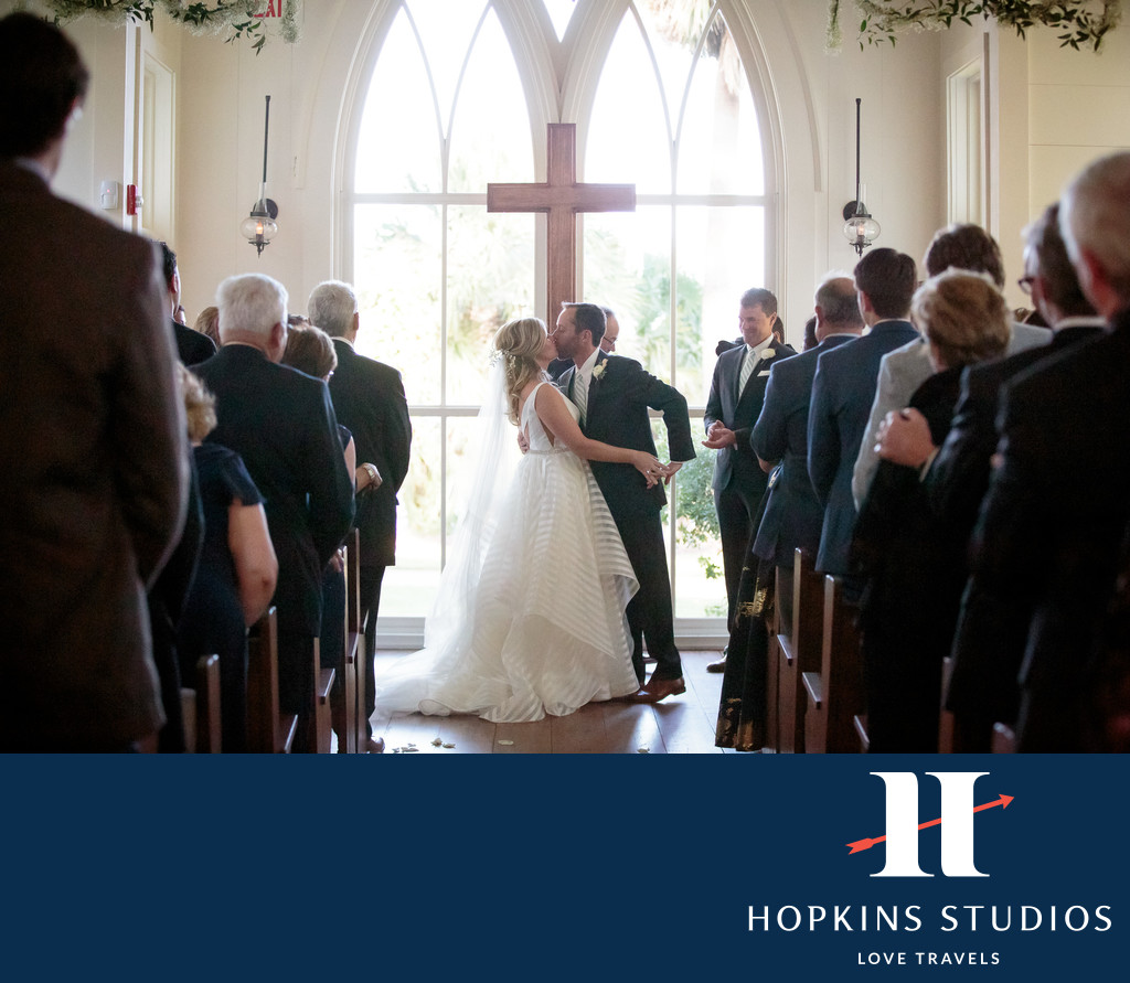 palmetto bluff chapel wedding ceremony