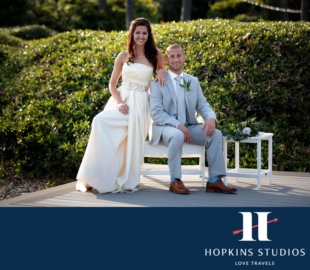 Sea Pines Bride and Groom