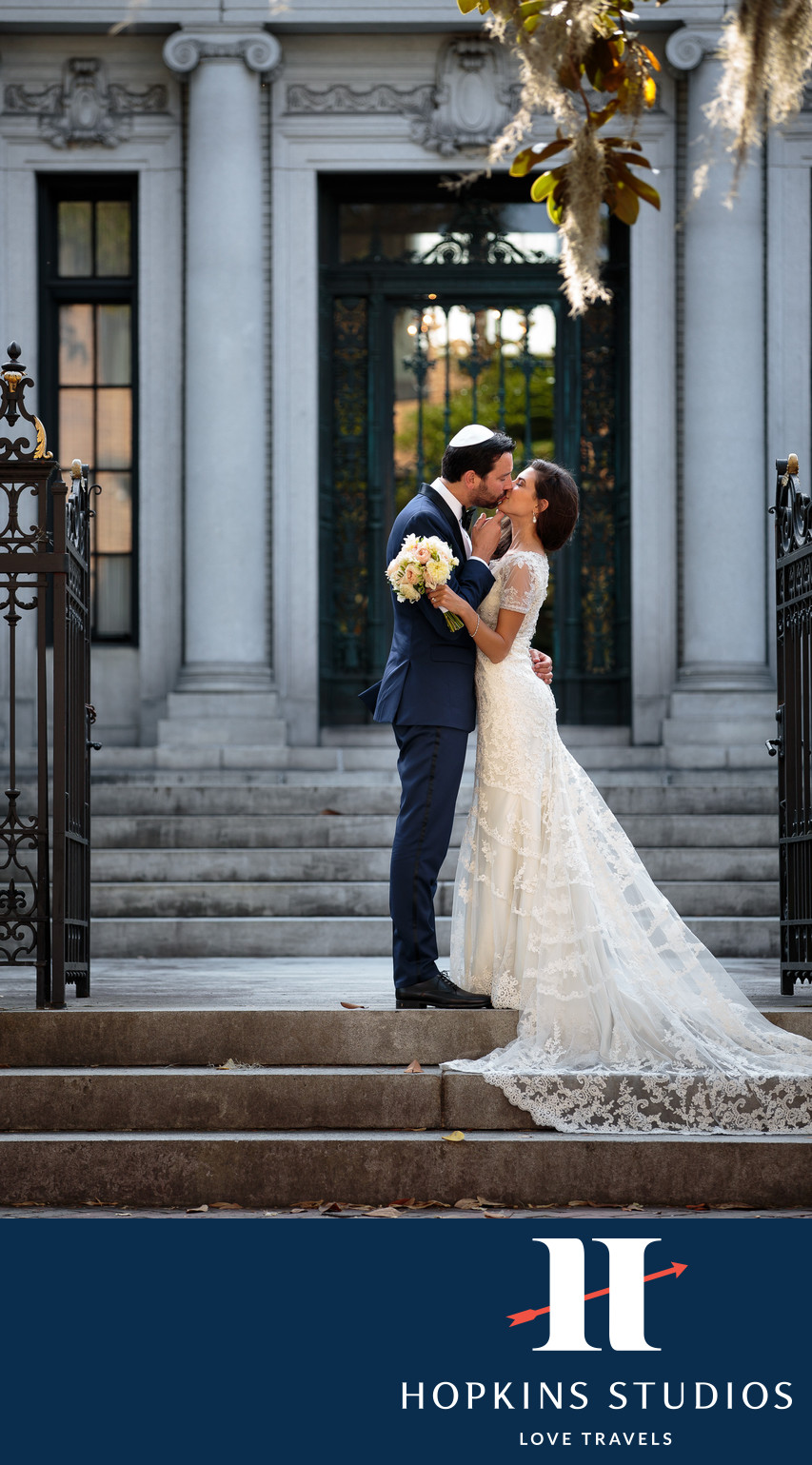 downtown savannah wedding